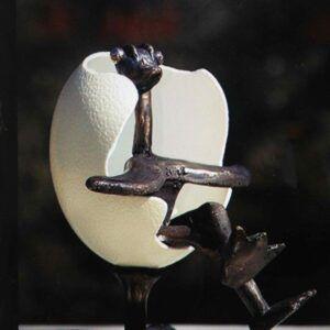 Bronze skulptur Hans Felthaus