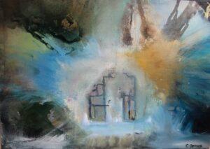 Salg af maleri Charlotte Tønder