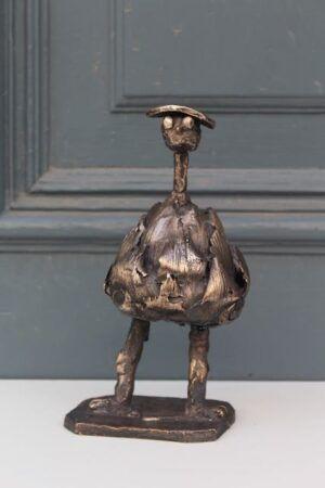 Artiskok Manifique bronzeskulptur