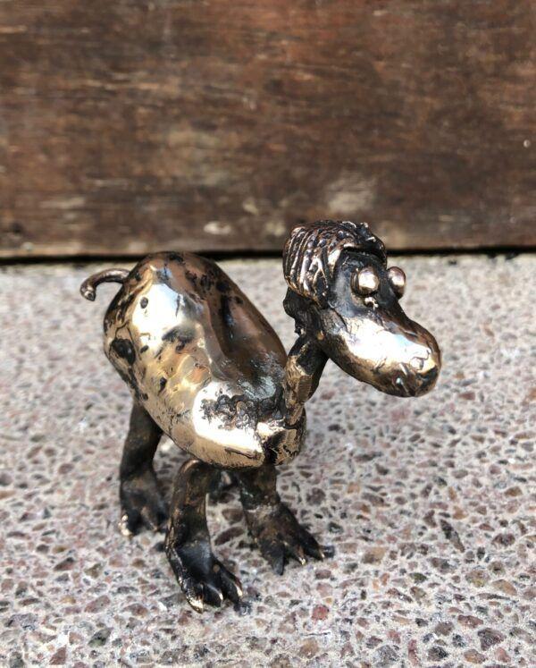 Bronze skulptur Charlotte Toender