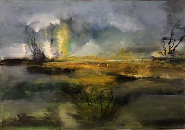 Melankoli - maleri Charlotte Tønder