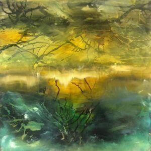 Eventyrligt maleri af Charlotte Toender