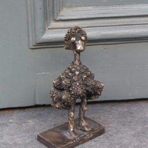 Bronze skulptur Romanesco Funky