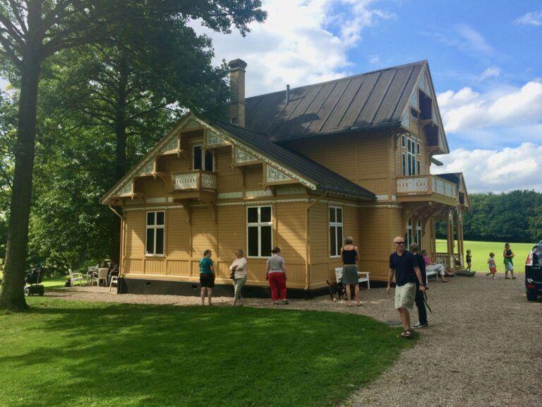 Charlotte Tønder i Svenske Villa - udstilling
