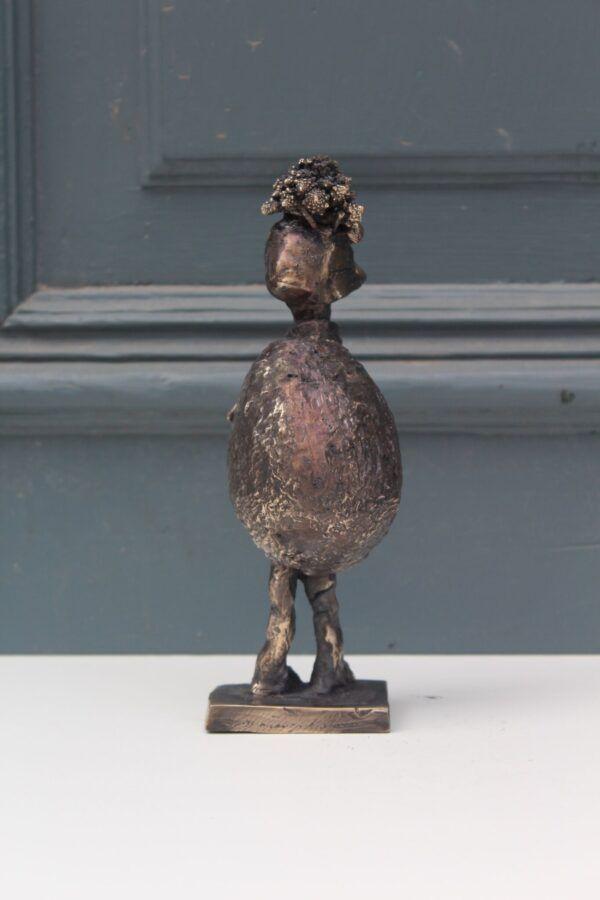 Avocado bronzeskulptur