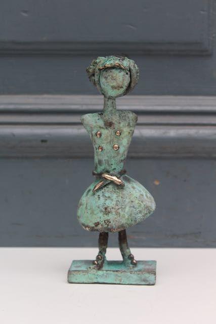 Bronzeskulptur Charlotte Tønder